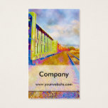 Vibrant Train 1 Business Card