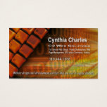 Web Design-1 Business Card template (orange)