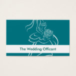 Wedding Officant Business Cards