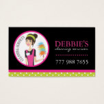 Whimsical Cleaning Services Business Cards
