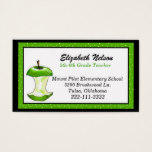 Whimsical Teacher's business card