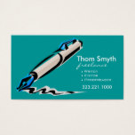 Writer Editor 4 Stylish Creative Business Cards